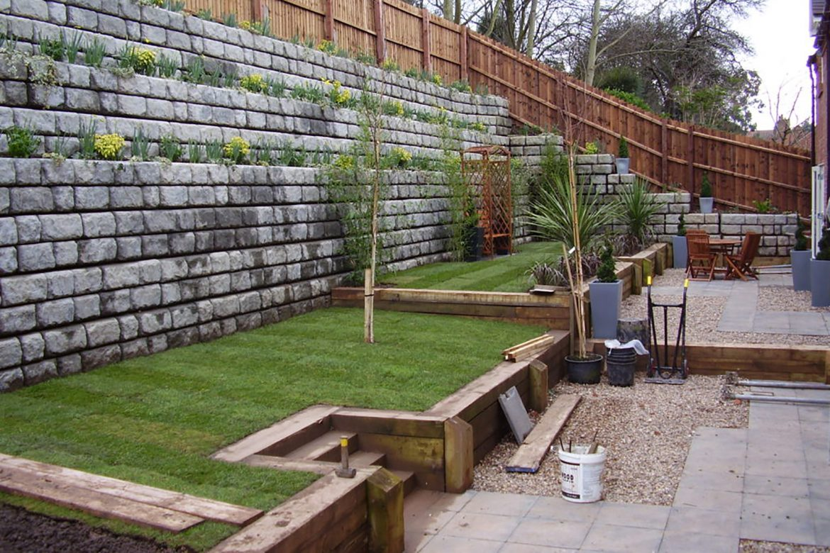 Retaining Wall Ideas Hillside – That May Enhance Slope Stability